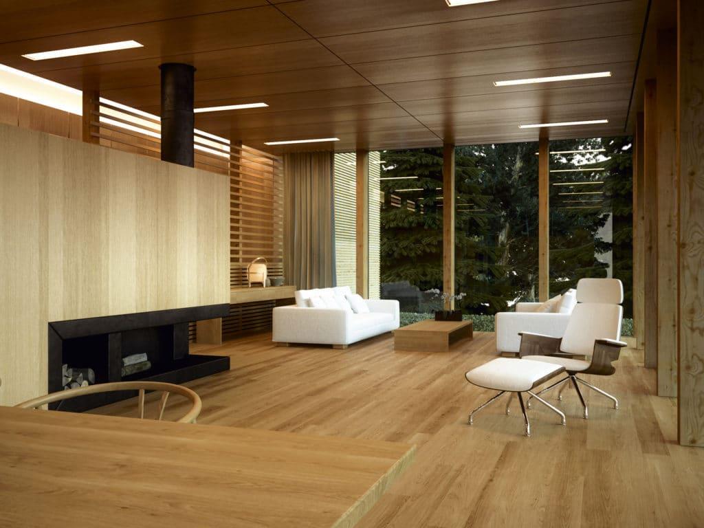 Varnished flooring