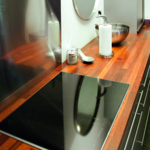Linitop Acryl Vernis used on kitchen counter