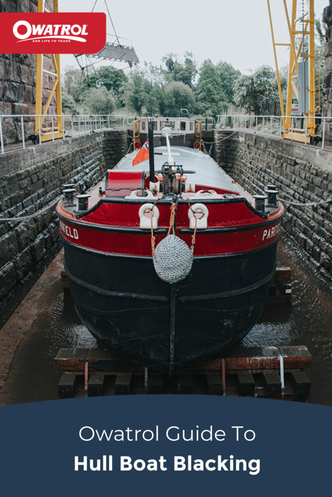 Owatrol guide to hull boat blacking - Pinterest