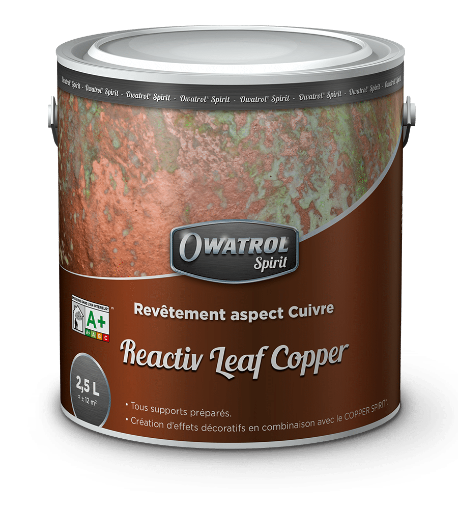 Reactiv Leaf Copper Owatrol Spirit range
