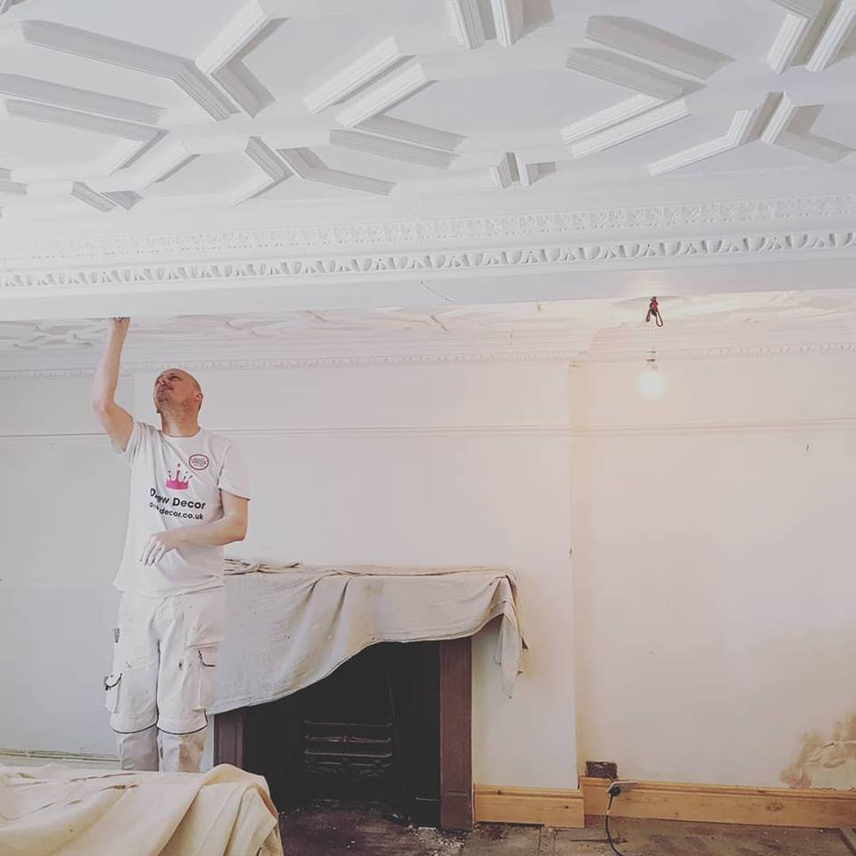 Drew Decor Painting Ceiling