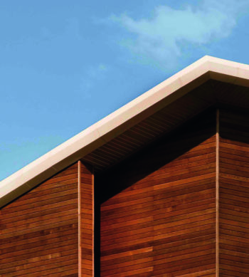 Linitop Solid used on external wooden cladding