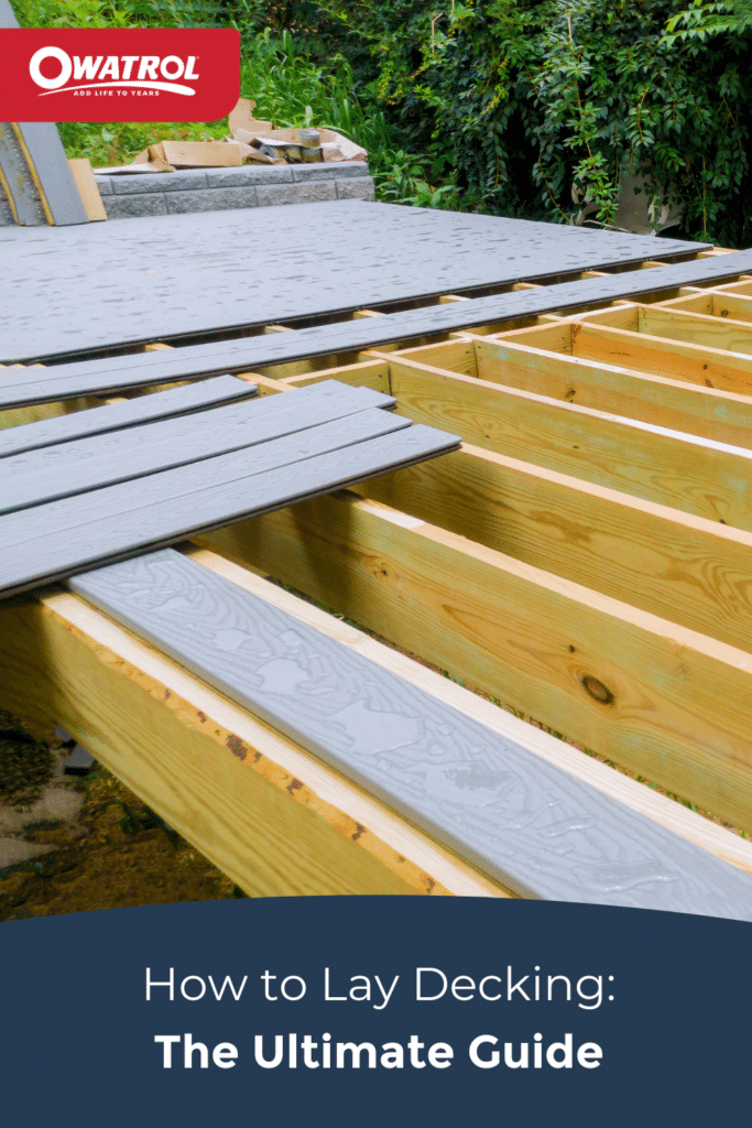 How to lay decking: the ultimate guide - Pinterest