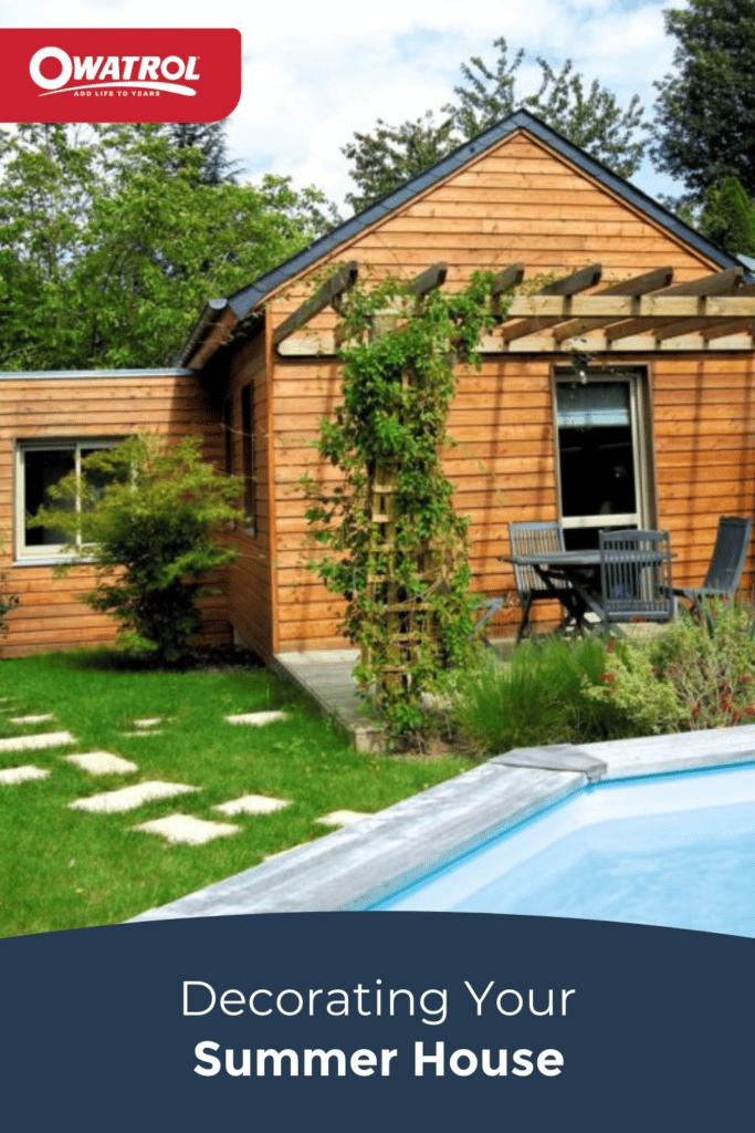 Decorating your Summerhouse - Pinterest