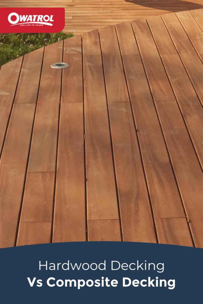 Hardwood decking vs composite decking - Pinterest