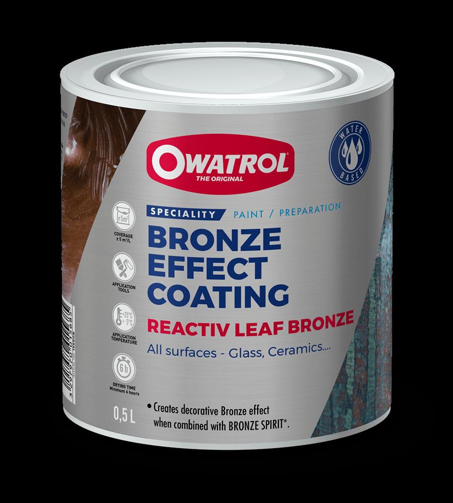 Reactiv Leaf Bronze packaging