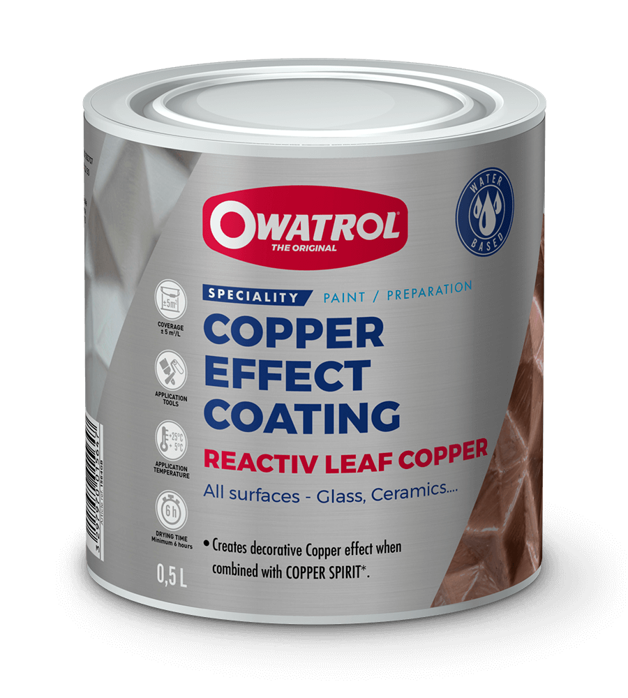 Reactiv Leaf Copper packaging