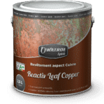 Reactiv leaf copper packaging