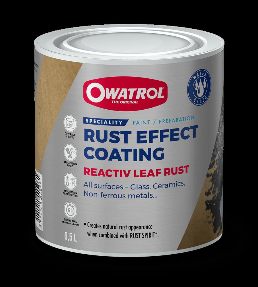 Reactiv Leaf Rust packaging