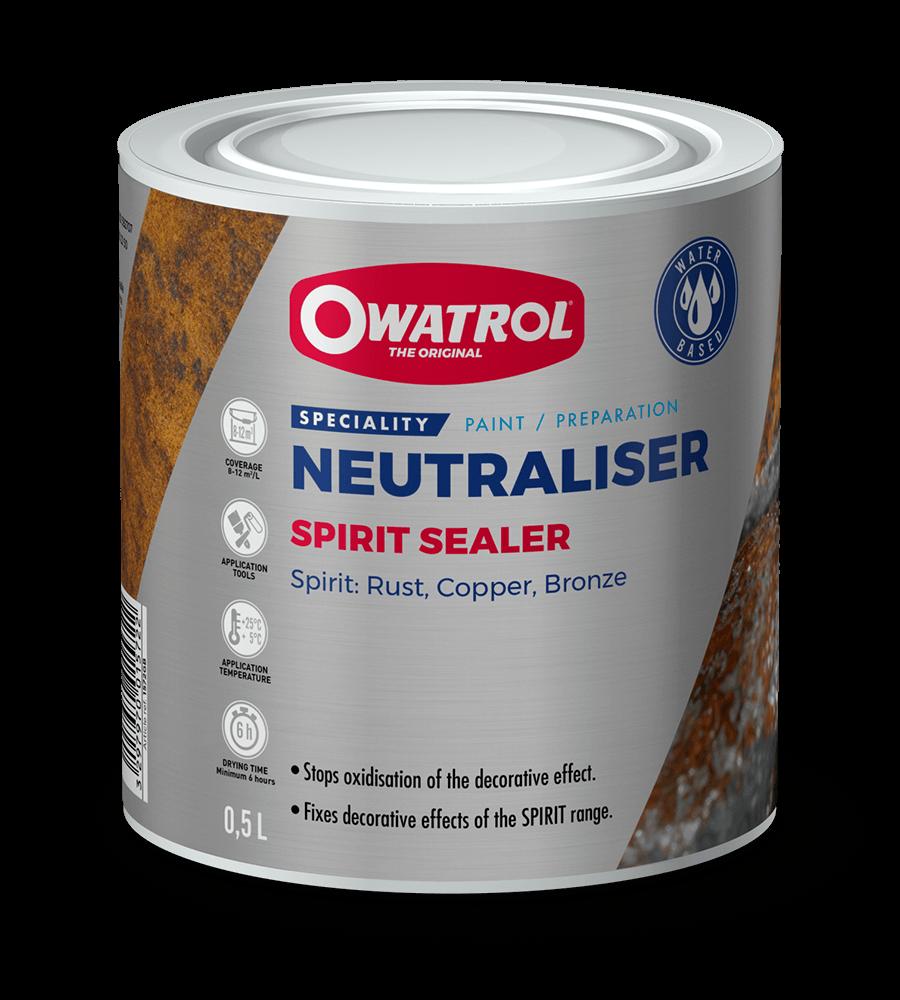 Spirit Sealer packaging