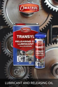 Transyl lubricating and releasing oil