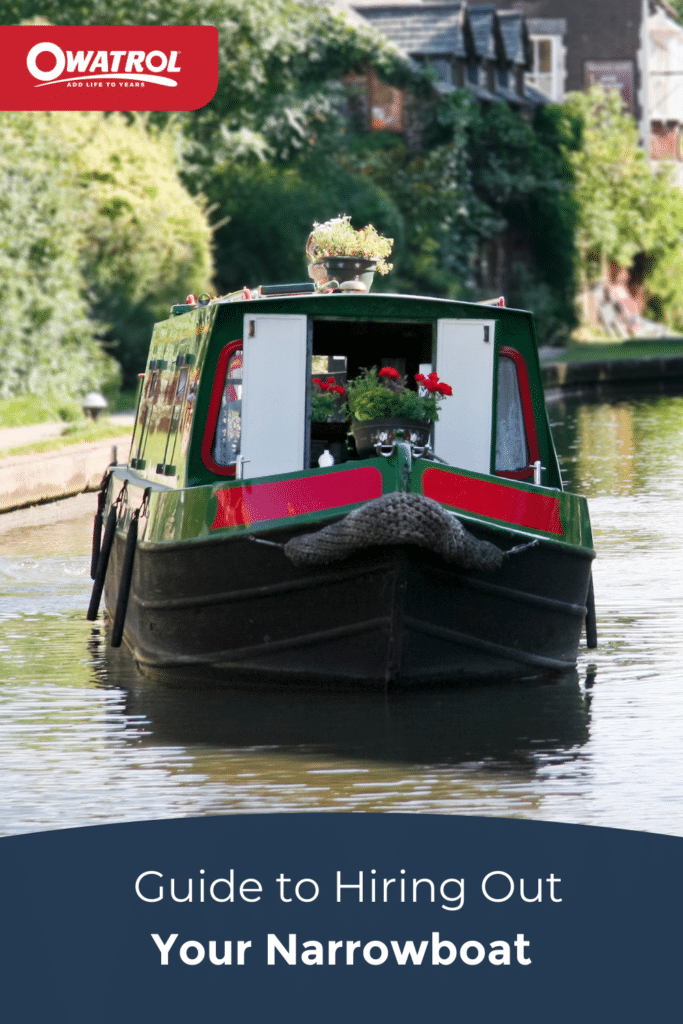 Guide to hiring out your narrowboat - Pinterest