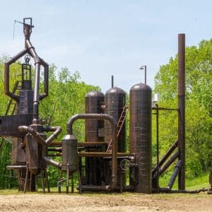 Image courtesy Art Omi Blast Furnace by Atelier Van Lieshout