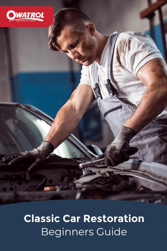 classic car restoration beginners guide - Pinterest