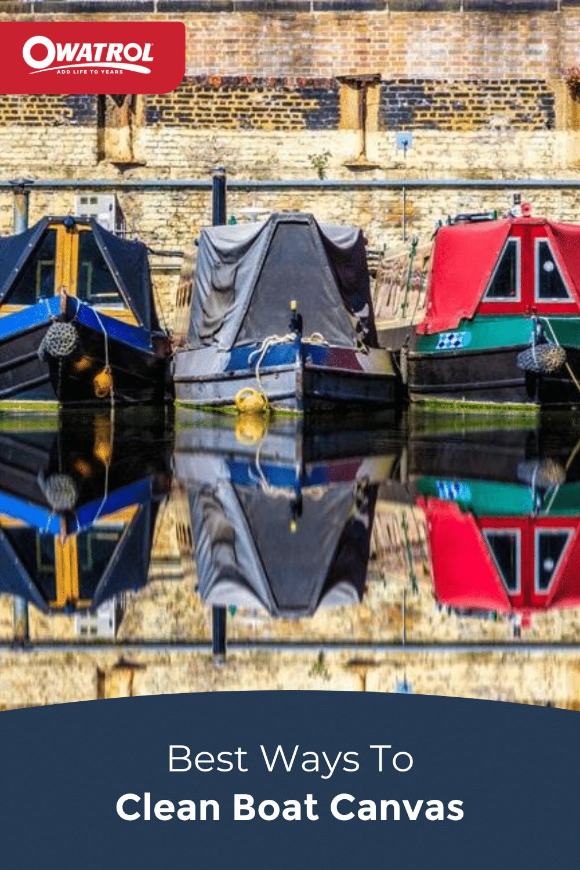 Best ways to beat boat canvas - Pinterest