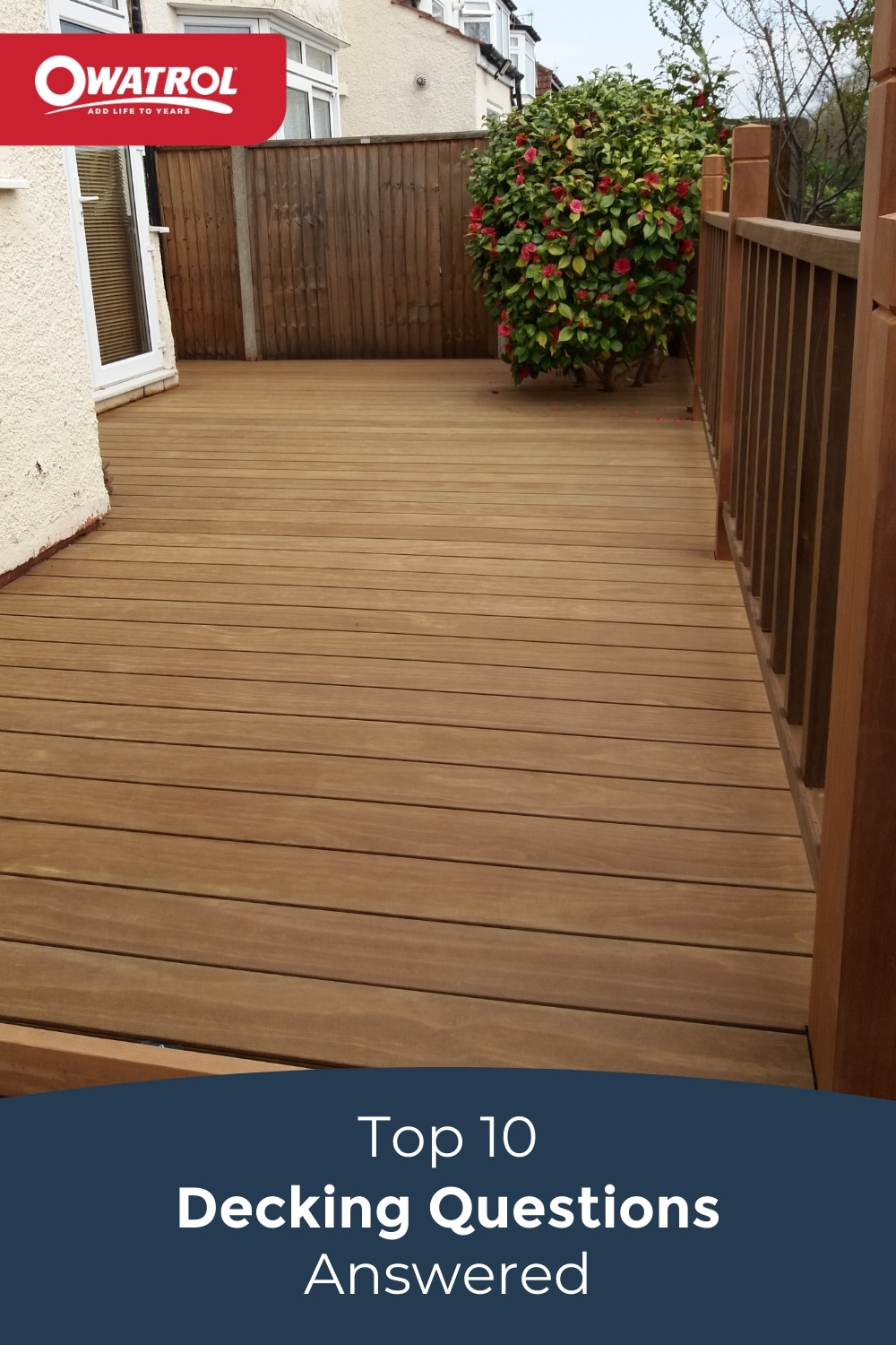 Top 10 Decking Questions answered Pinterest