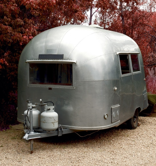 RA85 on airstream campervan