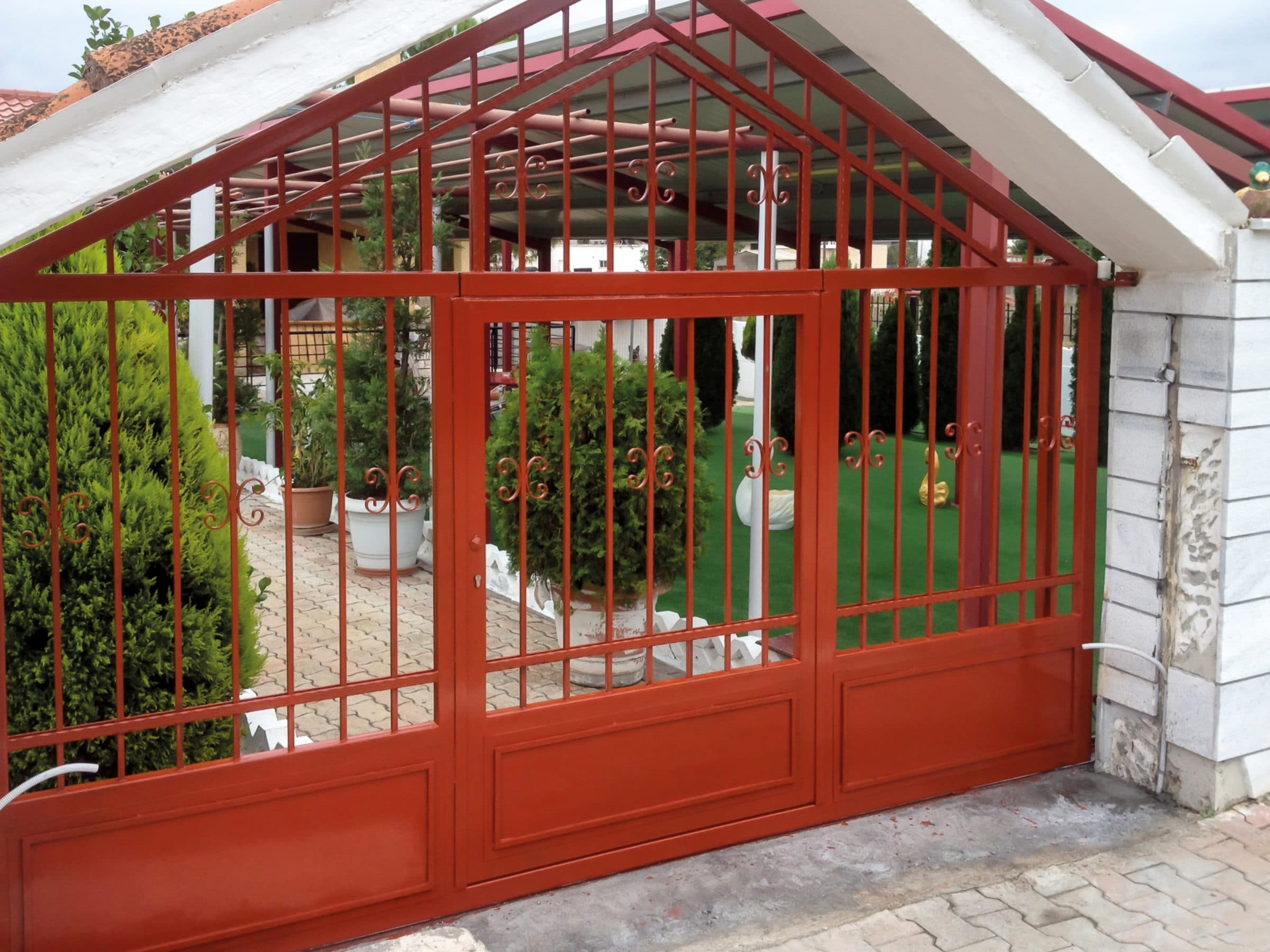 CIP applied to a metal gate