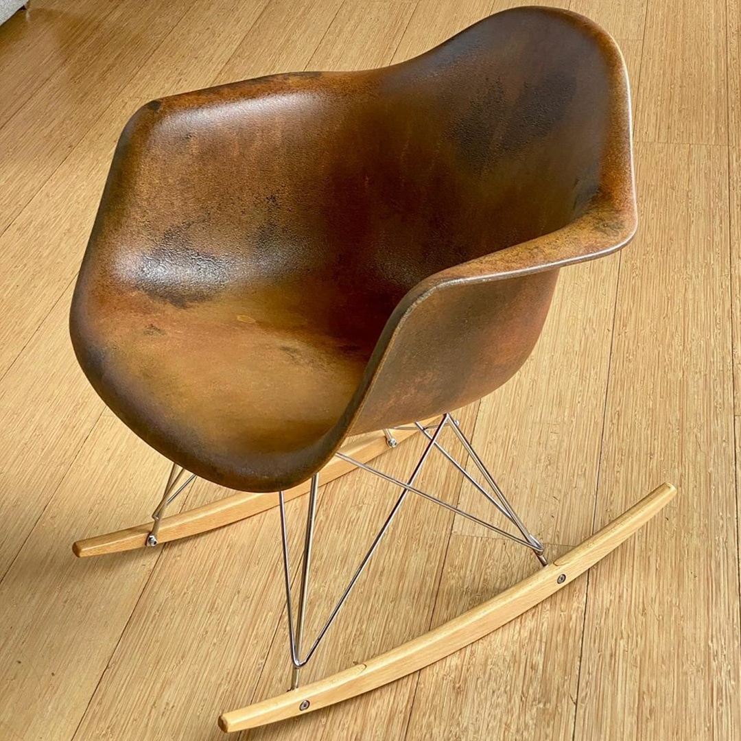 Rust Spirit applied to an Eames chair by GK Designs