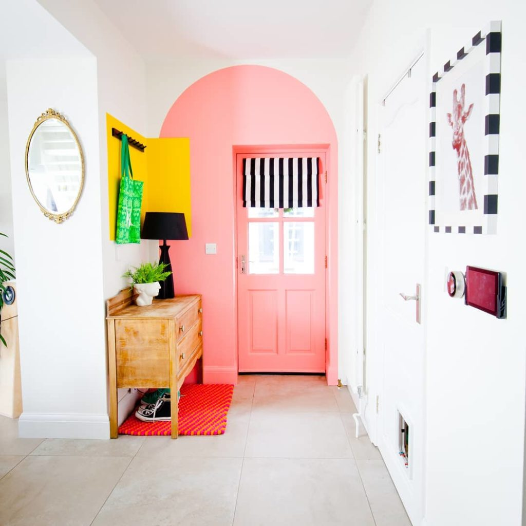 Lissi's door after