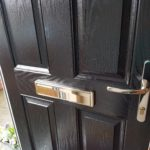 After application of Polytrol on composite front door