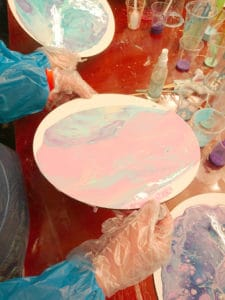acrylic paint pouring supplies