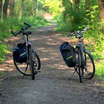 bikes with saddle bags