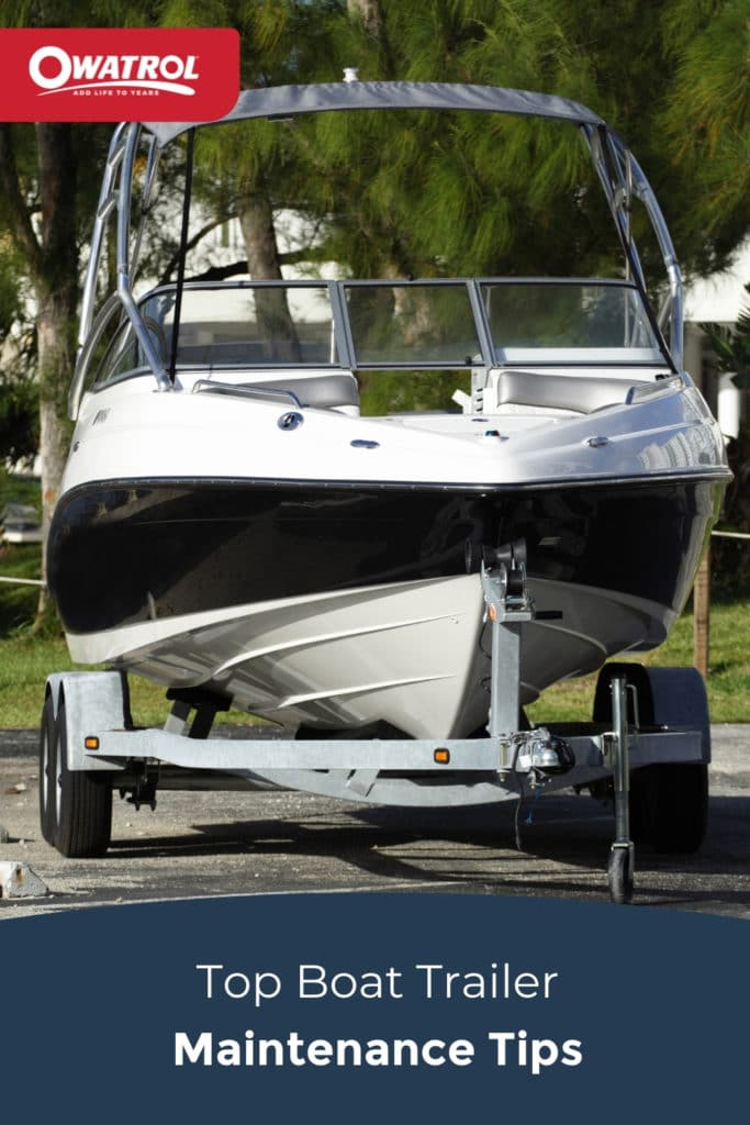 top boat trailer maintenance tips - Pinterest