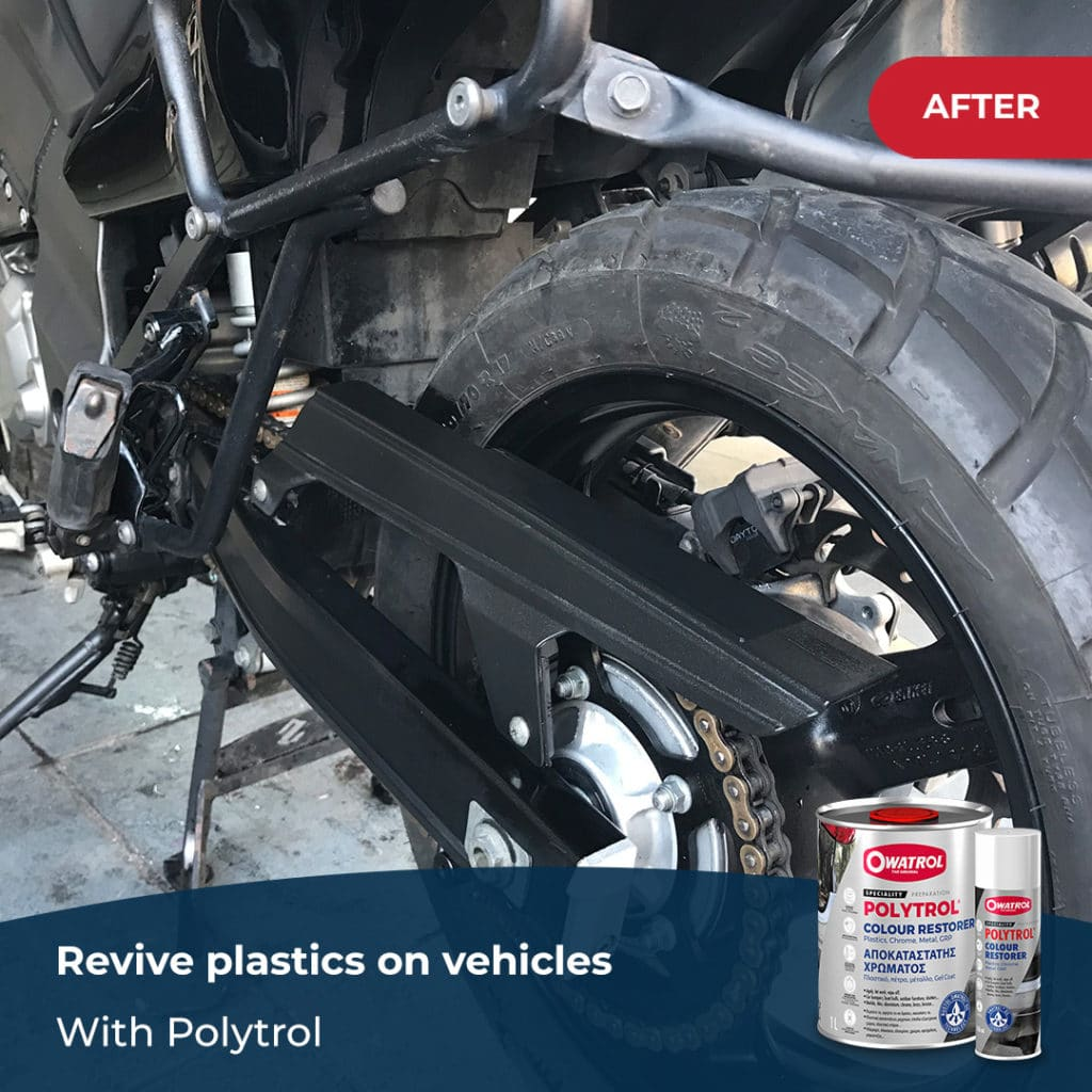 after polytrol on vehicles