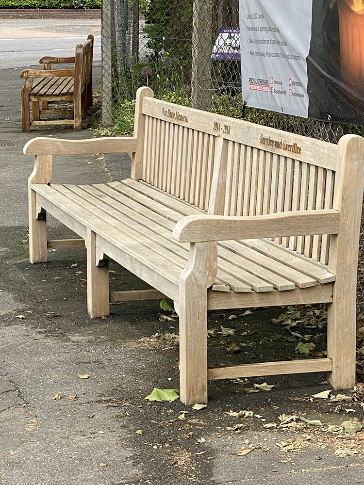 Bench after Net-Trol
